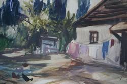 Máriási (Masznyik) Iván: akvarell