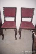 2-darab  Bécsi barokk szék