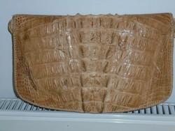 KROKODILBŐR női táska