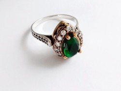 Török ezüst gyűrű