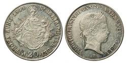 V.Ferdinánd 20 krajcár 1848 B.