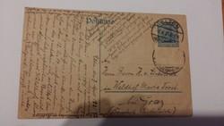 Levelezőlap 1914-es pecsételéssel Elten