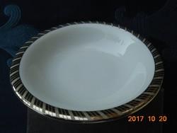 Ezüst mintás Rosenthal tálka-13 cm (2)