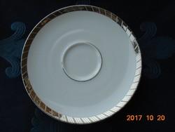 Ezüst mintás Rosenthal kis tányér-15,8 cm