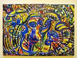 Festmény.olajfestmény kép
