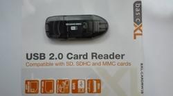USB olvasó/átalakító gyári csomagolással