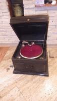 Ideal régi gramofon láda