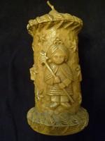 Karácsonyi Gyertya, 16,5cm Magas -