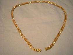 Gold filled áttörtmintás nyaklánc