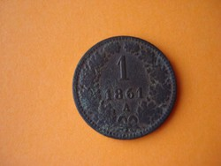 1 Krajcár 1861 A