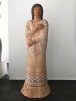 Kerámia szobor, Majorossy Sarolta alkotása,38 cm magas!