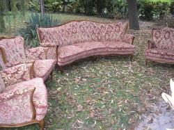 Warrings chipendél barok 3 foteles ülőgarnitura