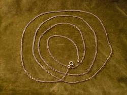 Nagyon hosszú antik ezüst lánc