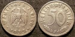 Német III. Birodalom 50 pfennig  1935J