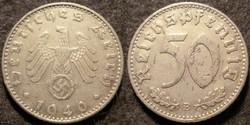 Német III. Birodalom 50 pfennig  1940B