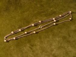 Golyós ezüst lánc