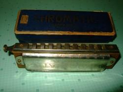 Antik Szájharmonika Ritka rezegtetős