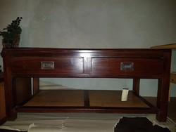 Dohányzó asztal - 2 fiókos
