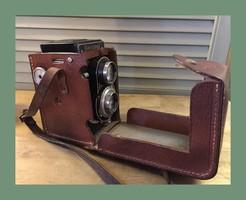 Flexaret antik fényképező gép