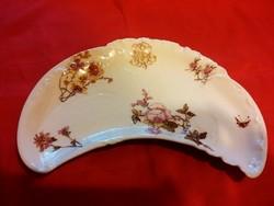 Antik Limoges porcelán csontos tányér óriási méret