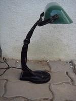 Régi bankár lámpa