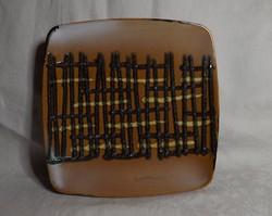 Retro kerámia asztalközép tányér  csodás darab