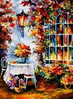 Leonid Afremov: White garden