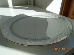 2 db tál dombor rombusz és geometriai mintákkal Schumann-Arzberg-24,5 cm