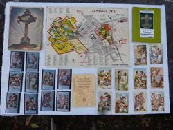 Trianon / Cserkészet /  könyv, képeslap, térkép.