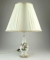 0M642 Herendi Rothschild mintás porcelán lámpa