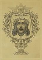 0P104 Ismeretlen művész : Krisztus portré 1928