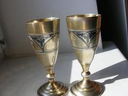 Antik orosz ezust poharak