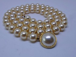 Szépséges antik gyöngy nyakék