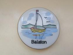 Balaton - üveg ékszertartó