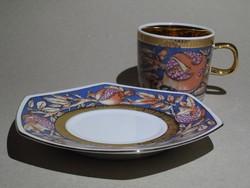 Bohemia porcelán kávéskészlet