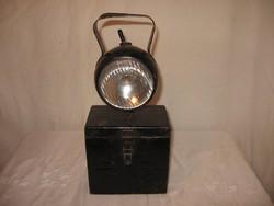 Régi vasutas lámpa - NAGY - 34 x 15 x 9 cm  - szép állapot