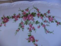 Virágos tányér készlet
