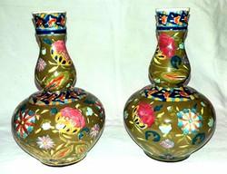 Fischer váza Extra Ritka párban 17cm!