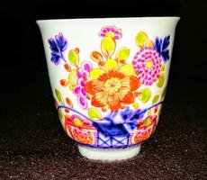 Antik gyönyörű  meisseni csésze
