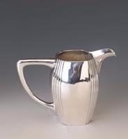 Ezüst art deco tej-/tejszín kiöntő