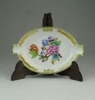 0P310 Viktória mintás Herendi porcelán hamutál
