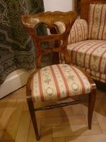 Bieder támlás szék 1820-40