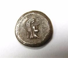 Görög obol másolat,ezüst,