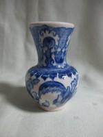 Mini porcelán váza 6,5 cm - babaház kellék