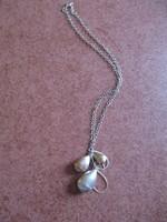 Gyönyörű ezüst lánc