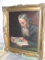 Asztalos Gyula: Olvasó férfi