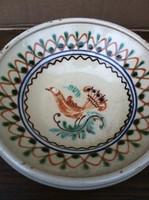 Hódmezővásárhelyi HMV Mónus Sándor madaras tányér