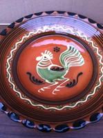 Karcag kakasos tányér