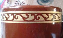 Csokoládé színű csésze, bögre pár