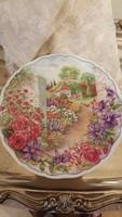 Royal Albert - secret garden - dísztányér